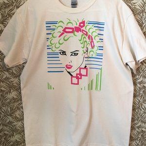T Shirt Sexy Abstract Tattoo Art Woman Lg NEW NWOT